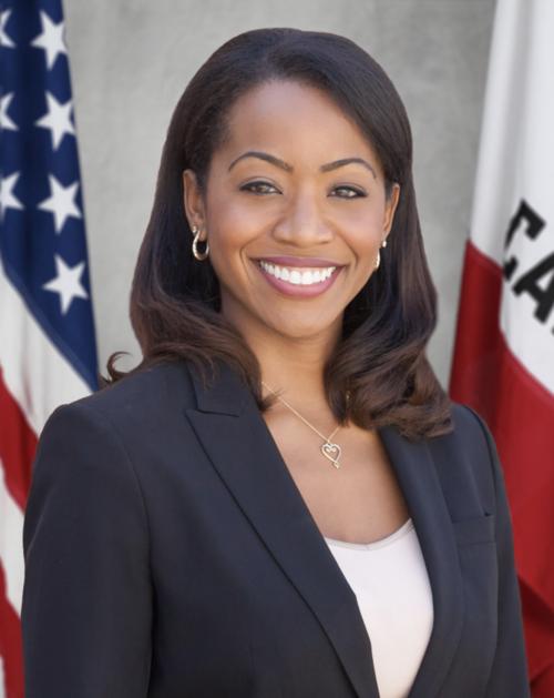 Member of the California State Board of Equalization Malia Cohen . Photo courtesy of Emerge California.