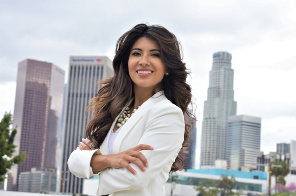 Federal prosecutor and first-generation Latina who worked for President Obama, Marina Torres represents the American Dream. Photo courtesy of Emerge California.