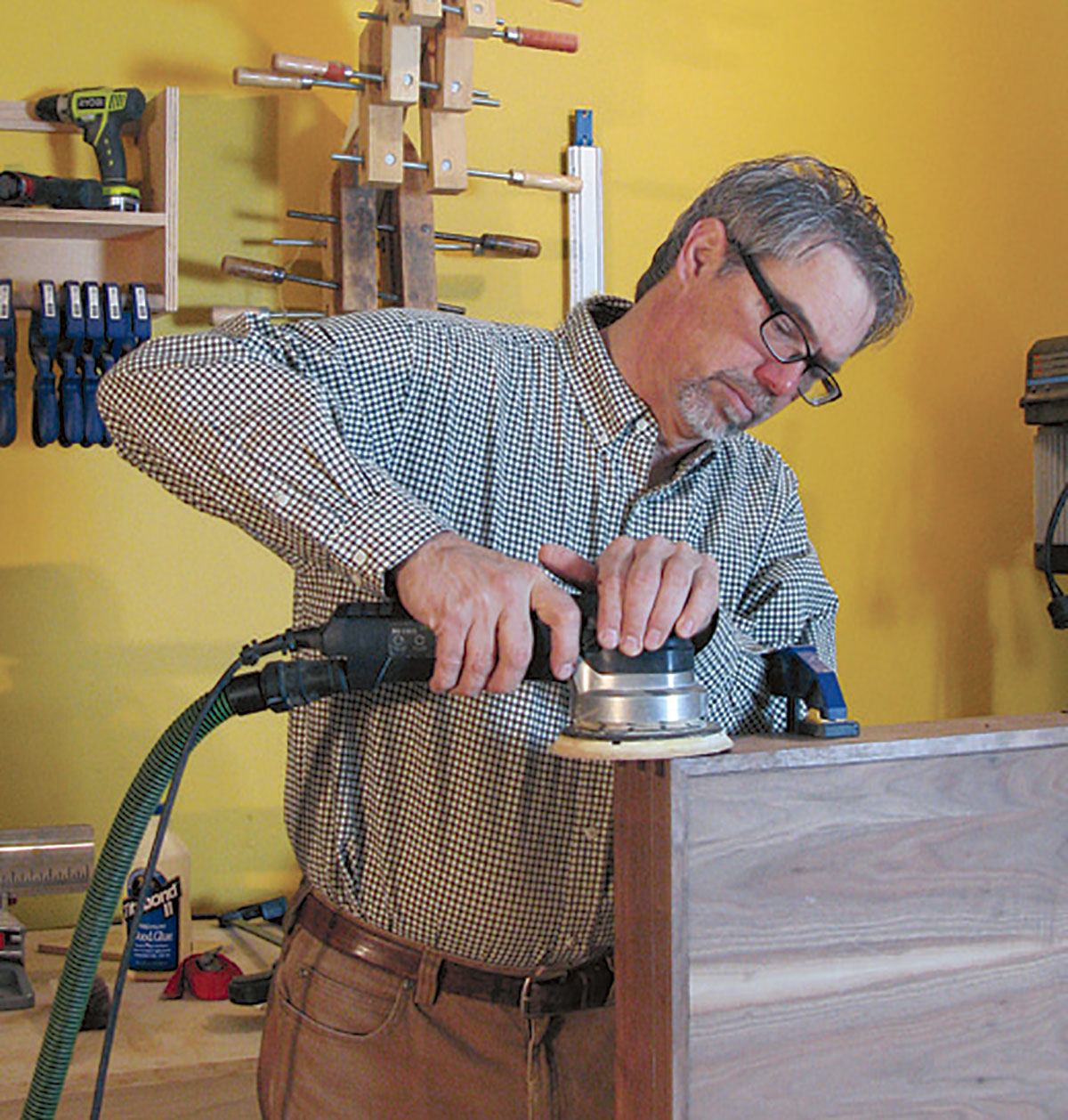 Rob Johnstone, Publisher of Woodworker's Journal and Director of Content Marketing at Rockler Press