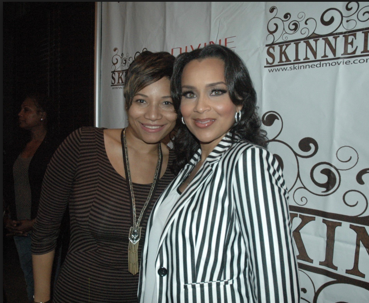 LisaRaye at the premiere screening for Skinned