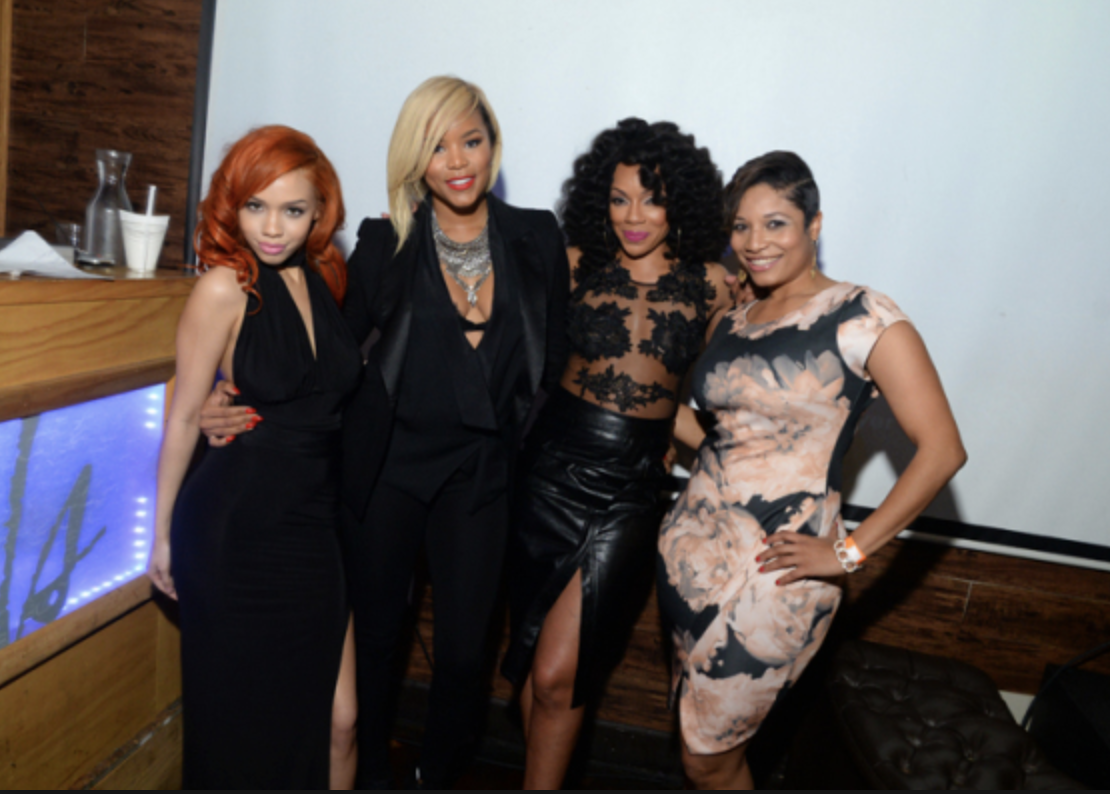 Kyndall Ferguson, LeToya Luckett, Wendy Raquel Robinson at the premiere party for Here We Go Again