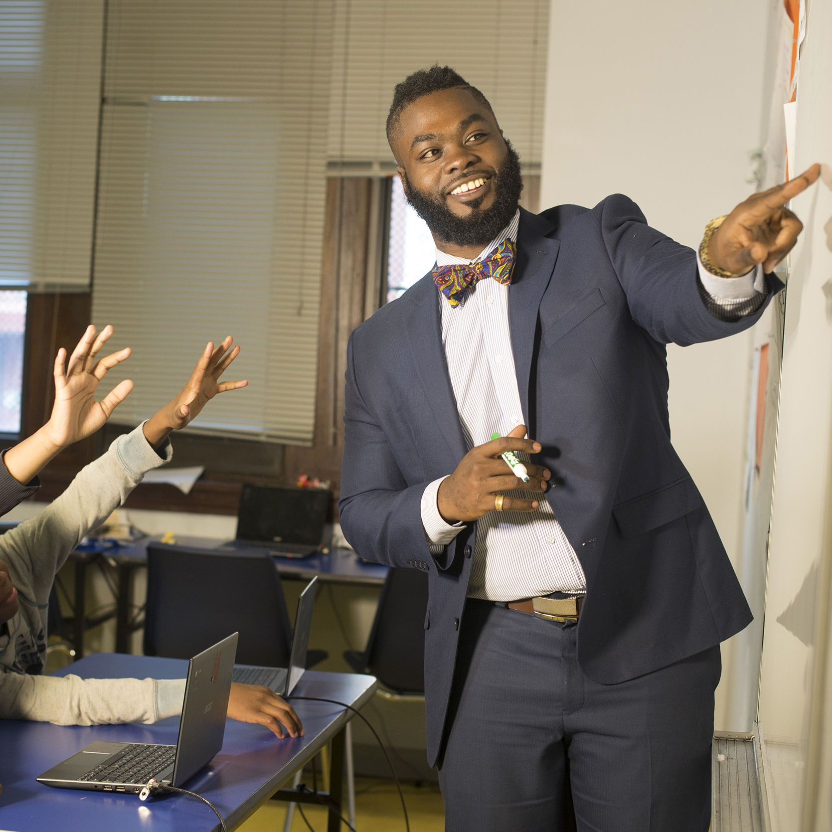 The Fellowship: Black Male Educators for Social Justice -