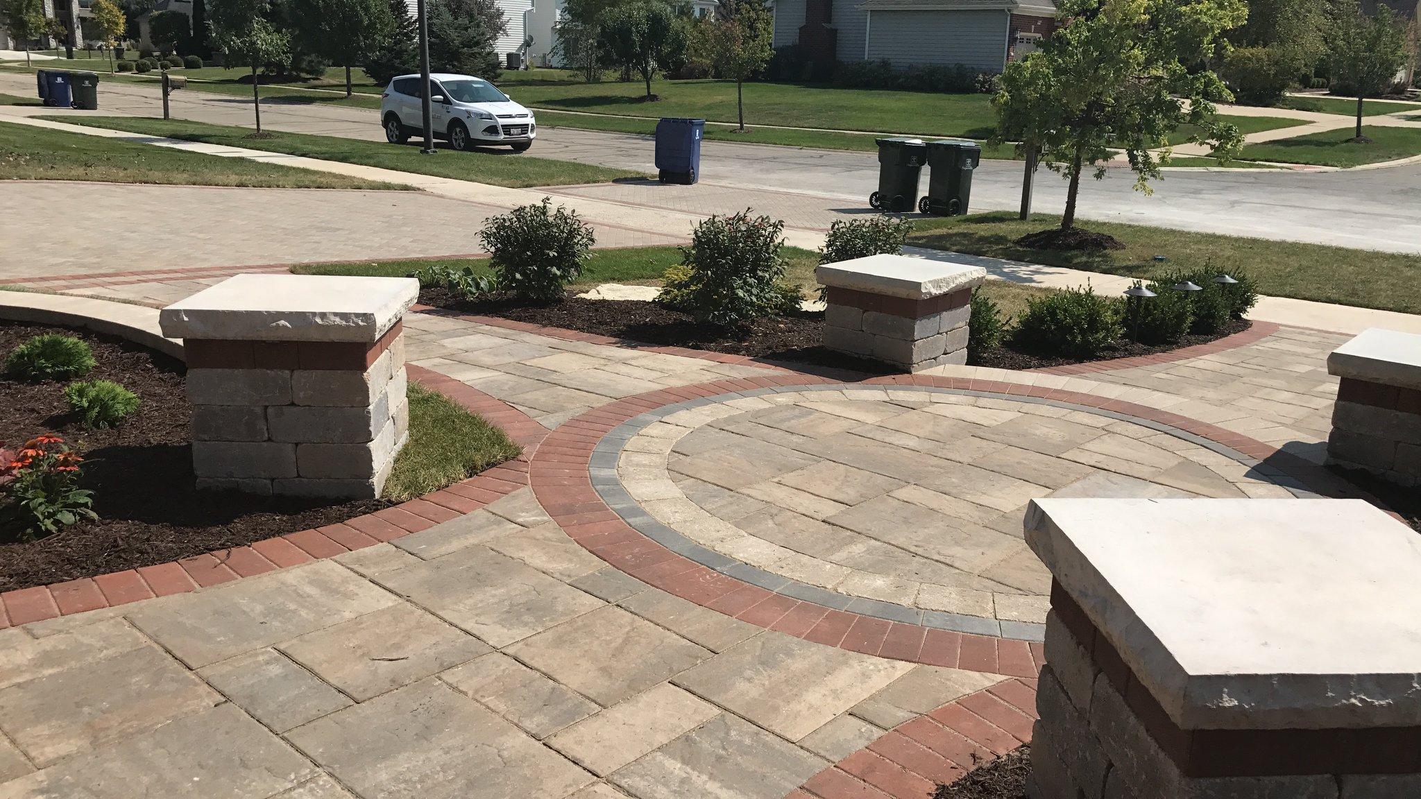 Upgrade Your Elmhurst, IL, Landscape Design with Brick Paving Patterns