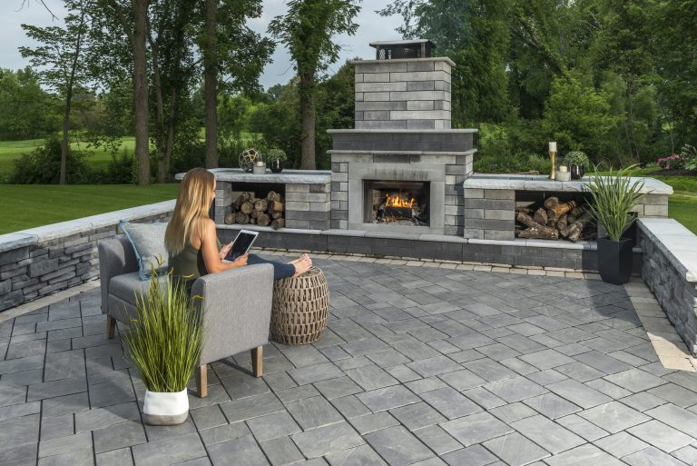 3 Contemporary Outdoor Fireplaces to Match Your Modern Plainfield, IL, Home