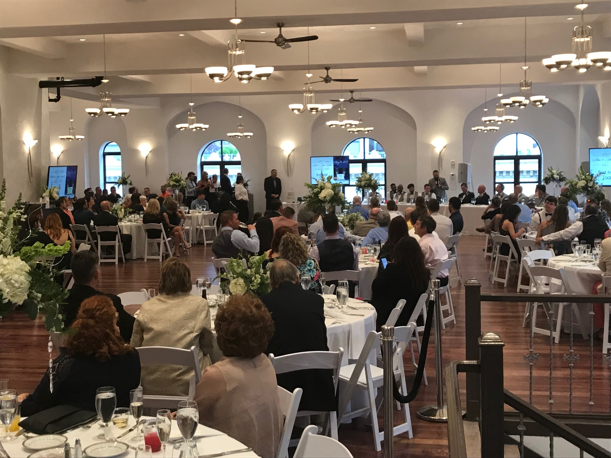 Grand Ballroom Wedding Dinner