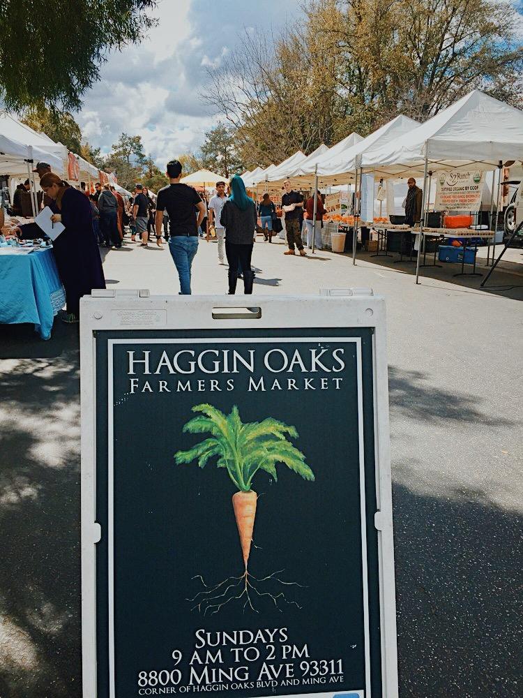 Haggin Oaks Farmers Market Bakersfield, CA