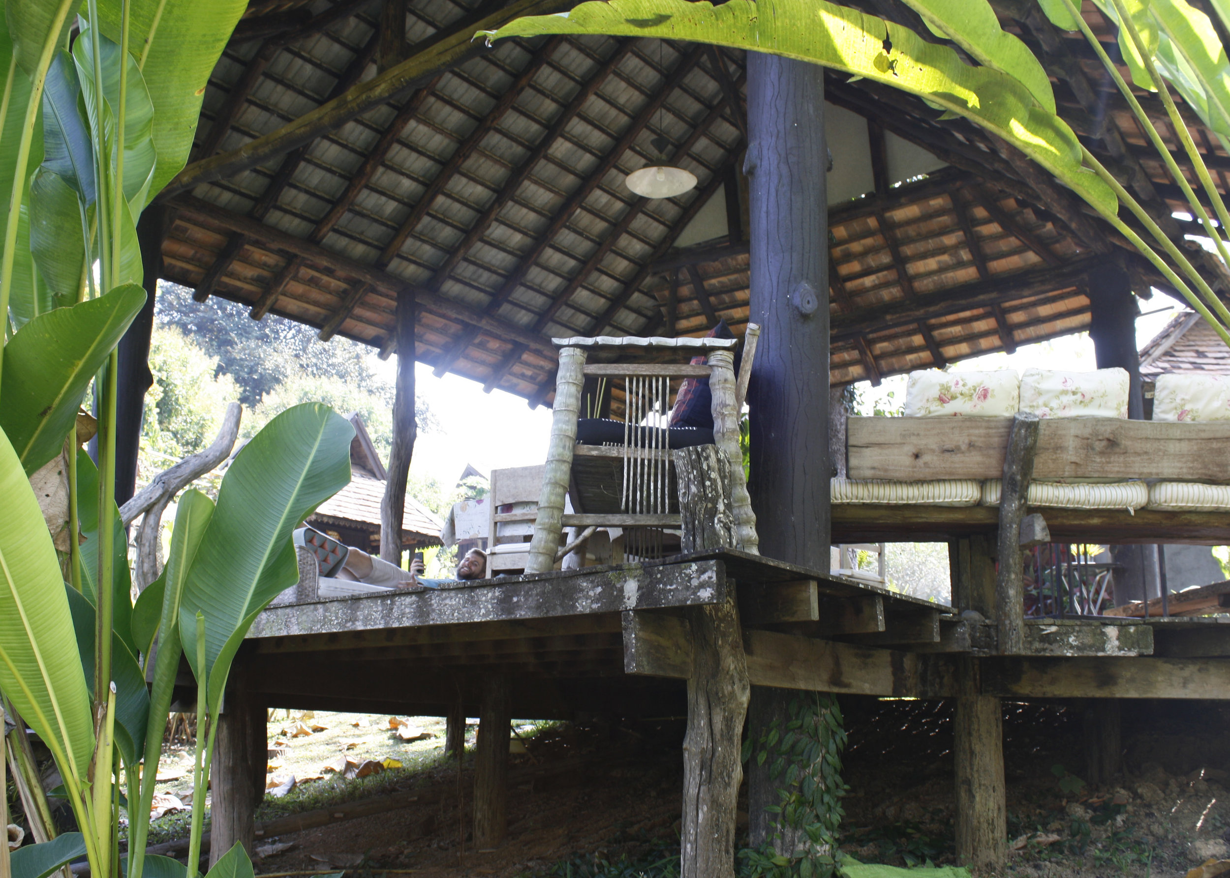 Our peaceful guesthouse on the outskirts of Chiang Mai