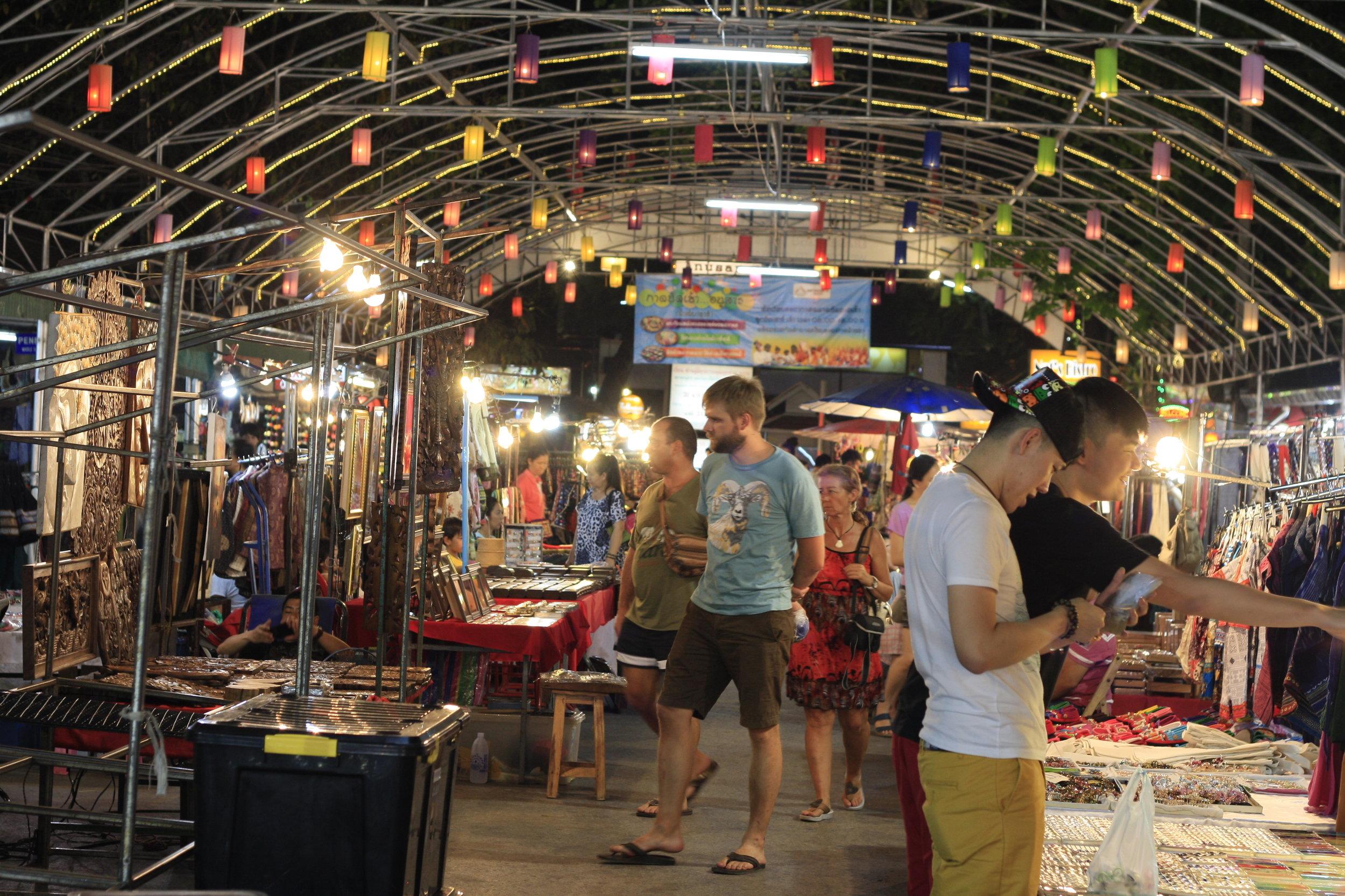 Chiang Mai's vibrant night market