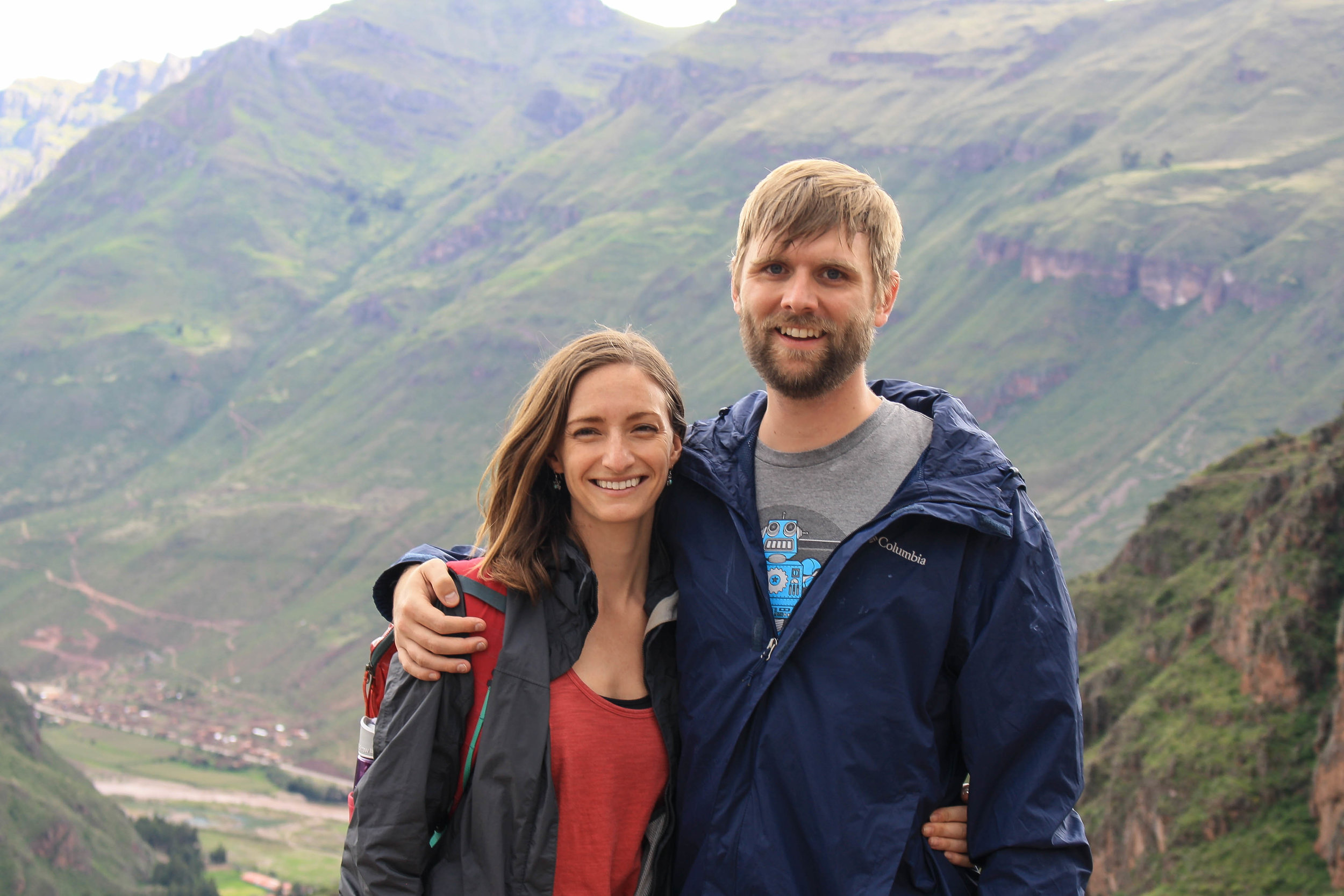 Hiking in the Sacred Valley on one of our off-days.