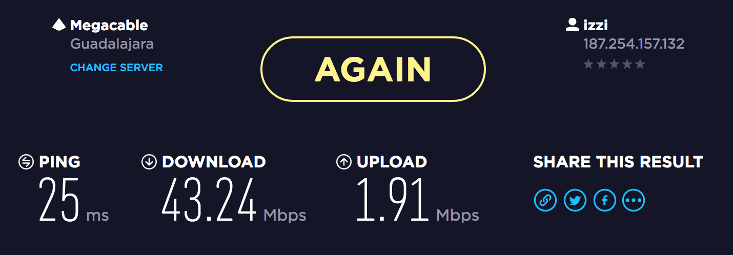 Three things to notice on any speedtest–ping, download and upload