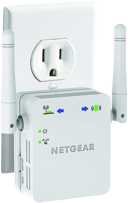 A wifi Extender. Photo source: https://www.amazon.com/NETGEAR-Version-Wi-Fi-Extender-WN3000RP/dp/B004YAYM06