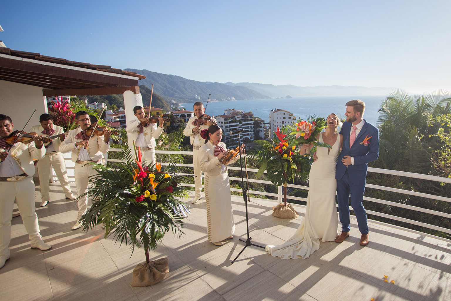The full live mariachi band took up a decent chunk of our budget–and was ultimately a favorite detail of our wedding day. Photo by  Cristheell Bernal