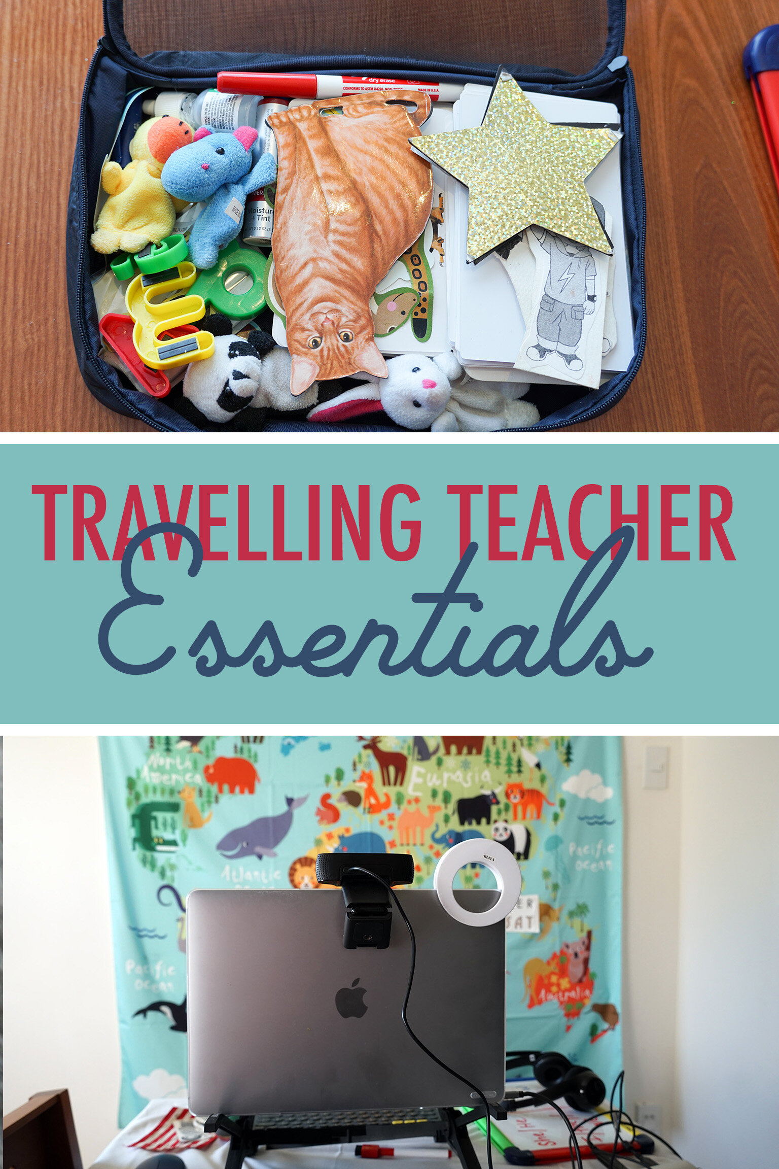 What am I missing, teachers? What won't you leave home without? -