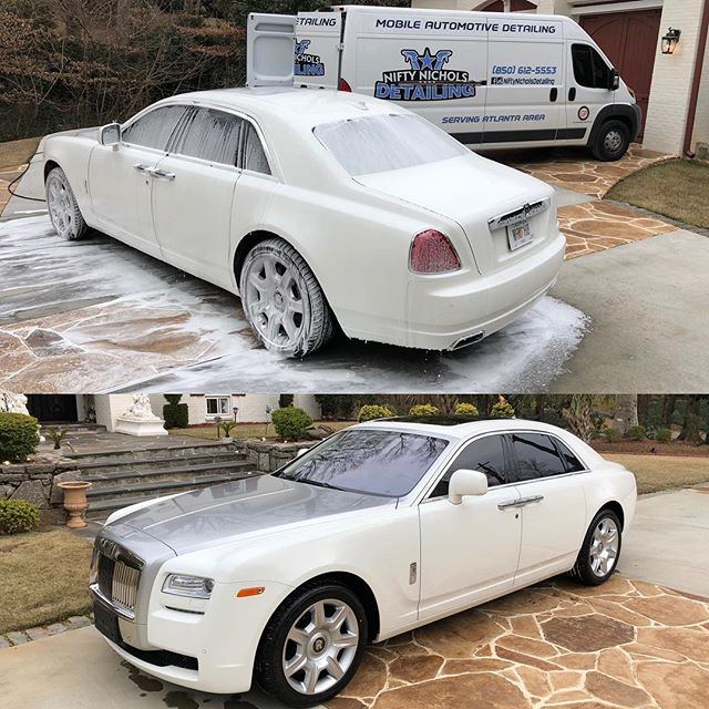 Rolls Royce Bi-Weekly Service®️®️ ——————————————————————————— Contact Us Today for More Information! 📞: 850-612-5553 💻: NIFTYNICHOLSDETAILING.com ——————————————————————————— Clean | Shine | Protect | Drive Clean ——————————————————————————— #NIFTYNICHOLSDETAILING #Gloss #Shine #Polish #Wet #Work #Cars #Trucks #Lifted #Lowered #Detailing #Detail #ShineSupply #Atlanta #AutoDetailing #Loyalty #Driven #Grind #DetailingBoost #Pristine #Mint #DetailingWorld  #AllInTheDetails #DetailersOfInstagram #Mobile #MobileDetailing #DoneRight #DetailersofAtlanta