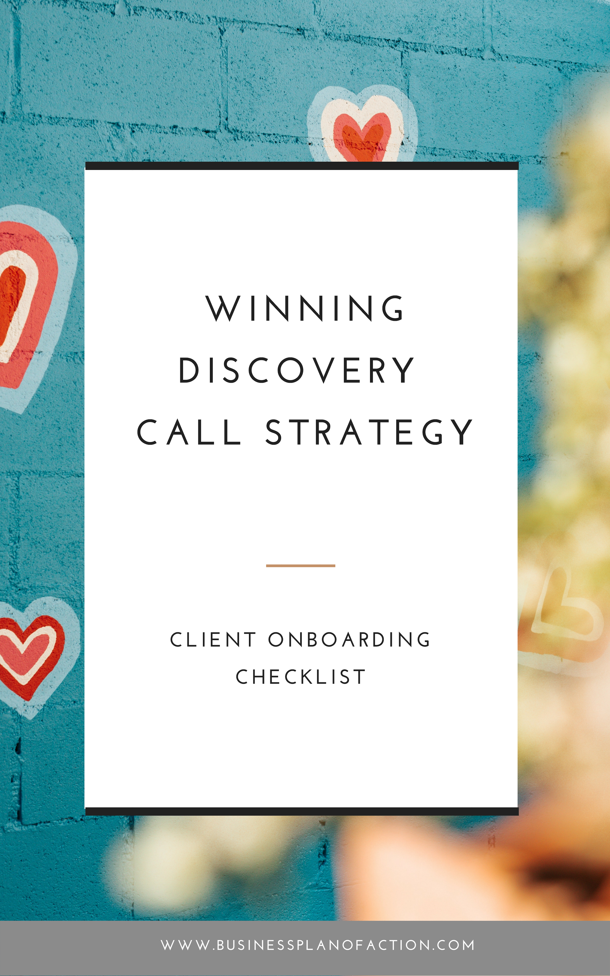 A discovery call without a plan is just a chat. I am going to share a three step system to qualify your potential client, prepare for the call without any research time, and avoid the biggest mistake that will sabotage your business! Read more and grab the ultimate client on boarding checklist: https://businessplanofaction.com/blog/discovery-call-structure