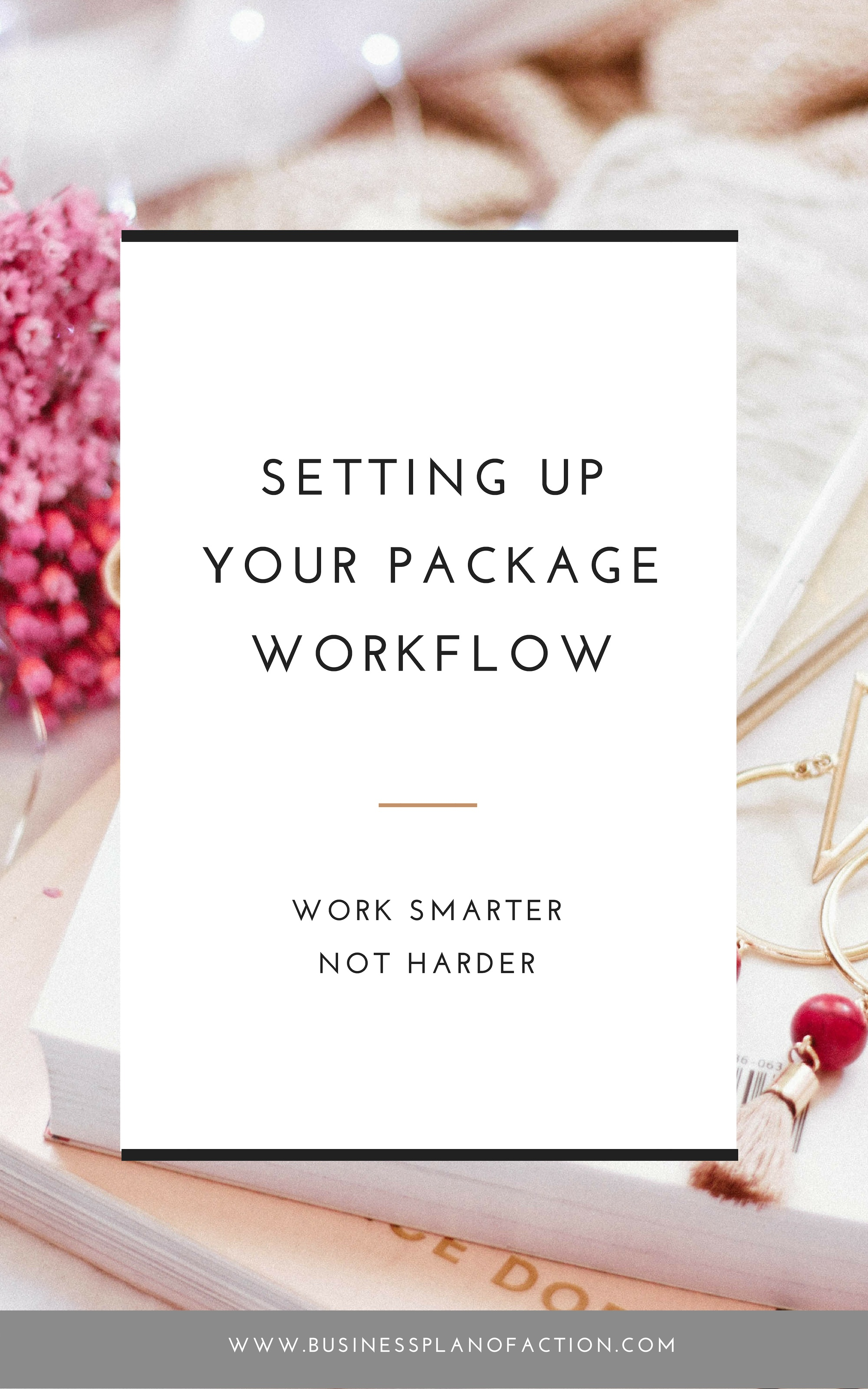 As your business grows, you need a workflow to move clients through your packages more smoothly—providing the best client experience possible. Find out how to get started.