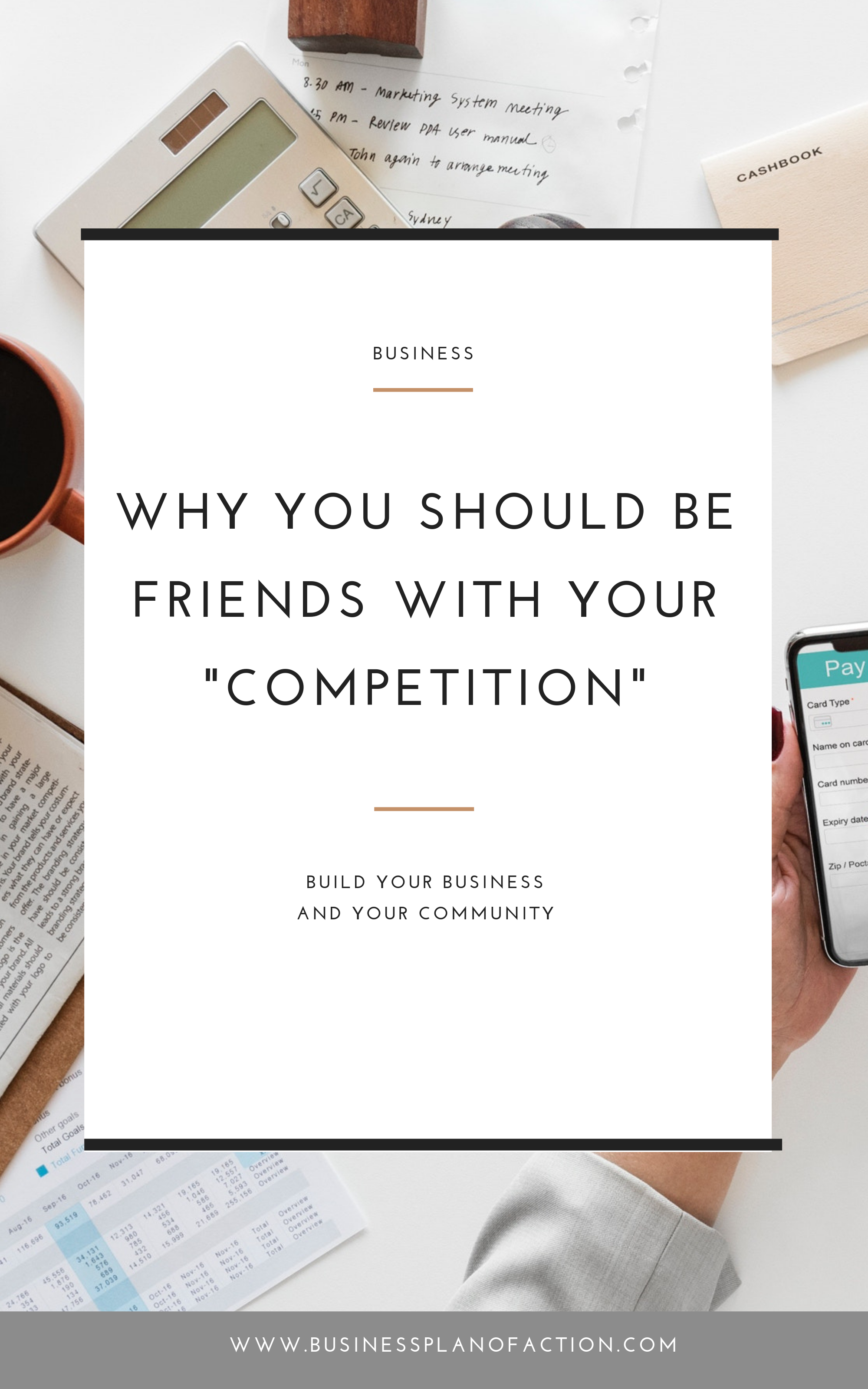 You're in a Facebook group--either a paid membership or a free community--and you start to feel like everyone in the proverbial room does the same thing as you. But you don't need to worry about your competition. Find out why!
