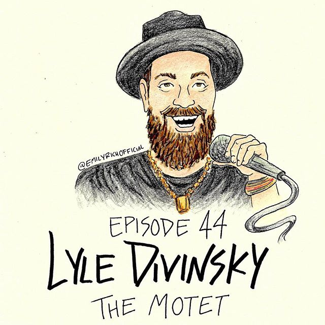 New episode is up with the homie @lyledivinsky of @themotet. It's a smacker! #worldsavingpodcast