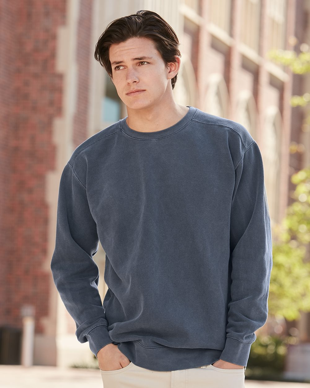 Comfort Colors Garment Dyed Ringspun Crewneck Sweatshirt