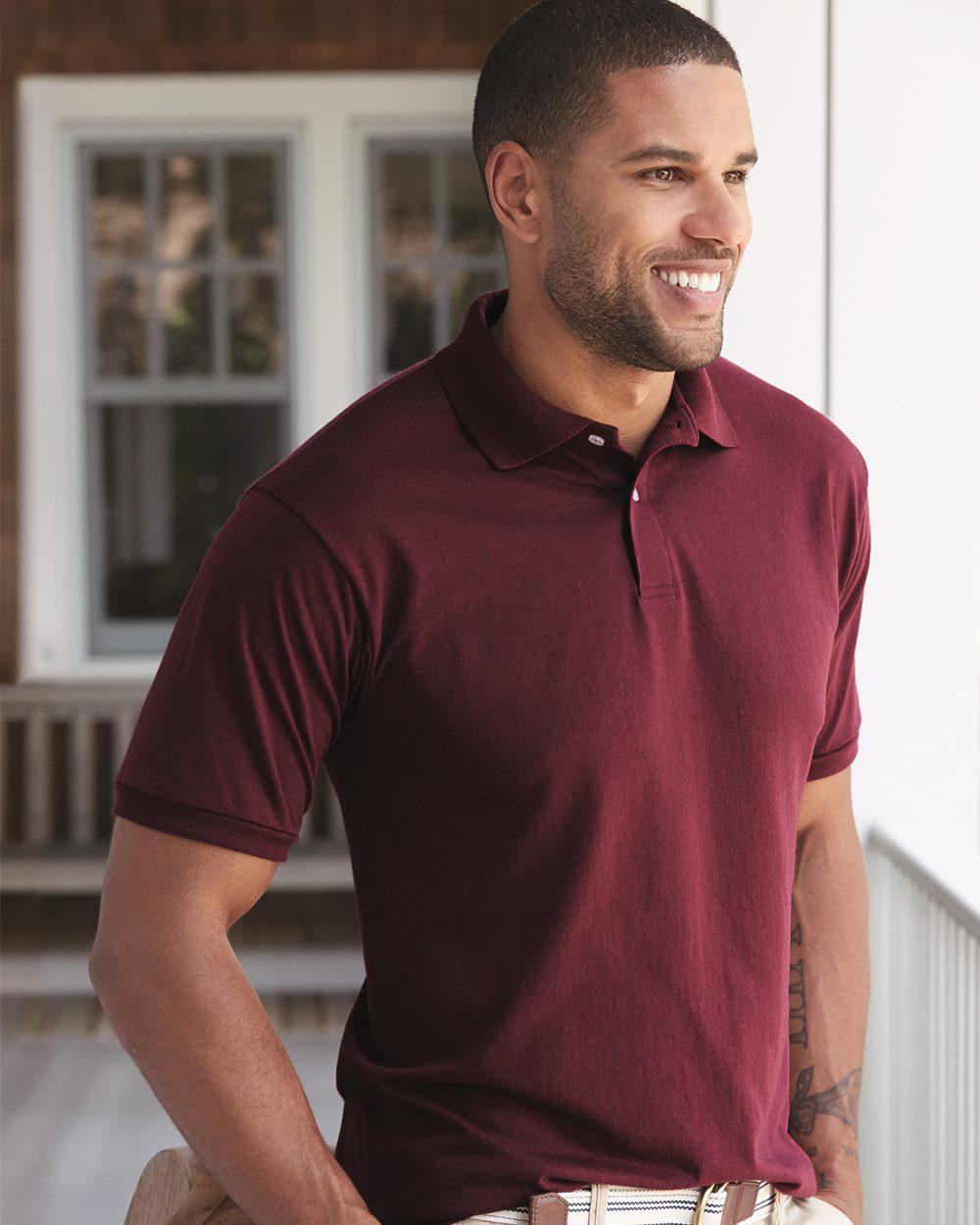 Hanes Ecosmart® Jersey Sport Shirt