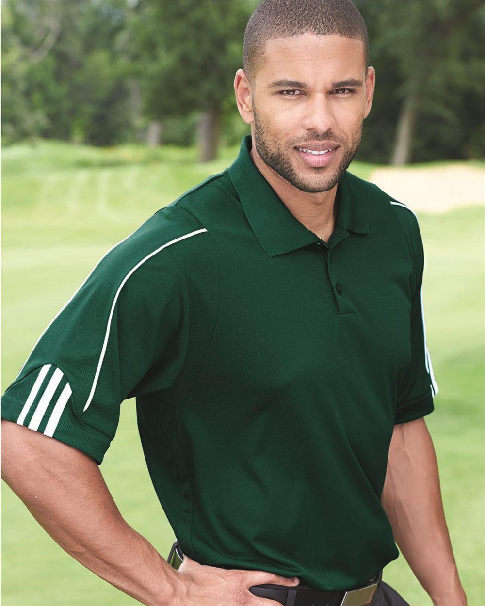 Adidas Climalite 3-Stripes Cuff Sport Shirt