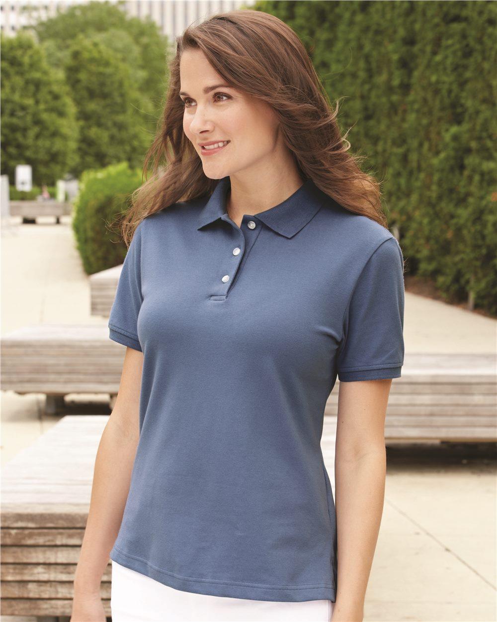IZOD Women's Classic Silkwash Pique Sport Shirt