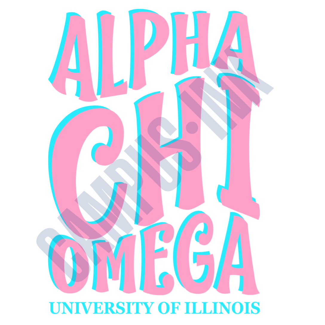 AXO Blue and Pink