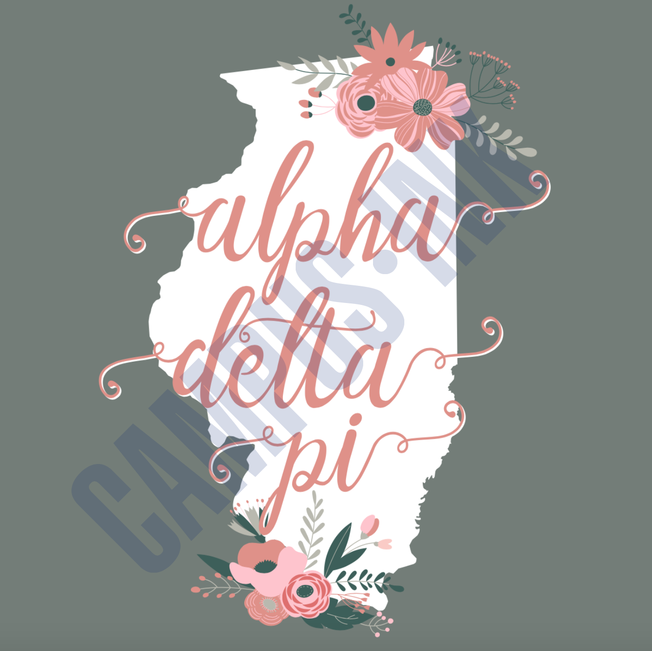 Illinois ADPi Flowers
