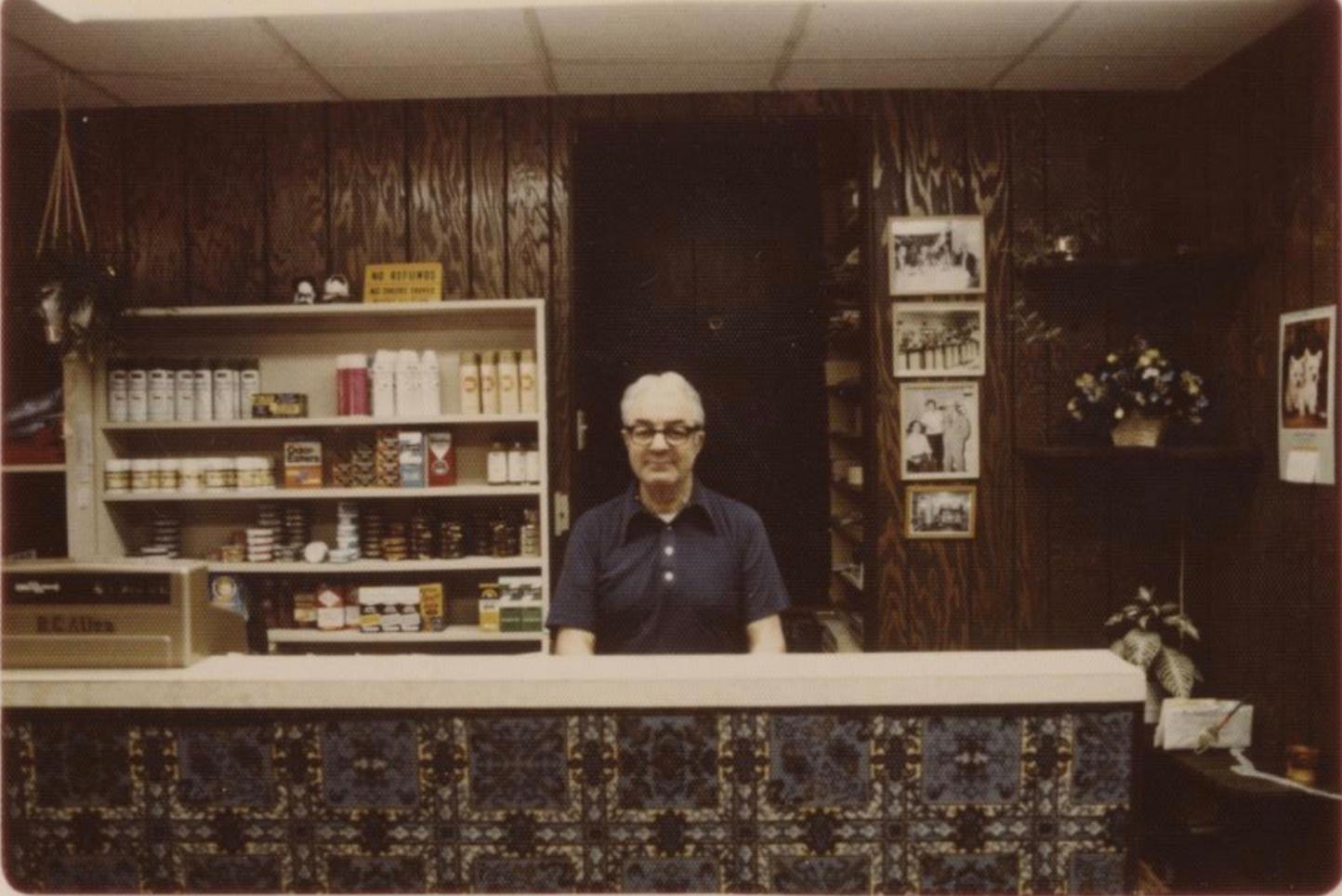 Tom's Grandfather inside Campus Sportswear