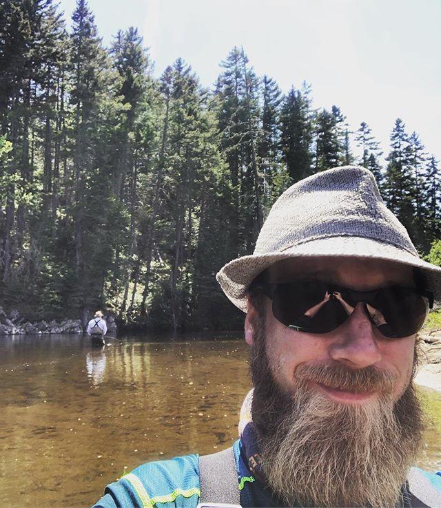 Moose deer brookies salmon bug bites #rangeley #flyfishing #mayflies