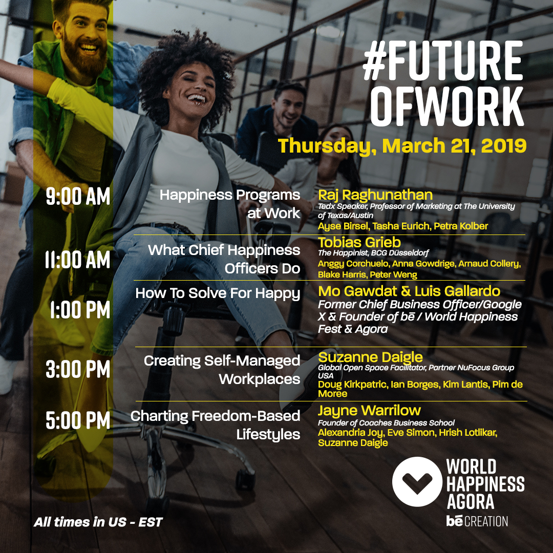 #FutureOfWork   to view agenda   register here.