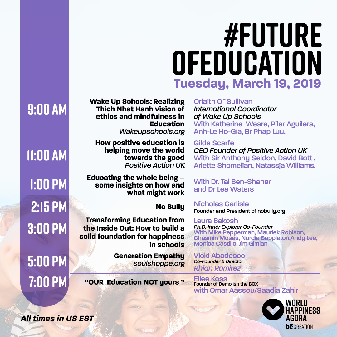 #FutureOfEducation   to view agenda   register here.