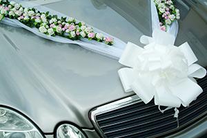 Wedding Car Dressed