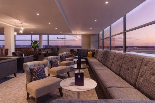 Airport Lounge at Gatwick