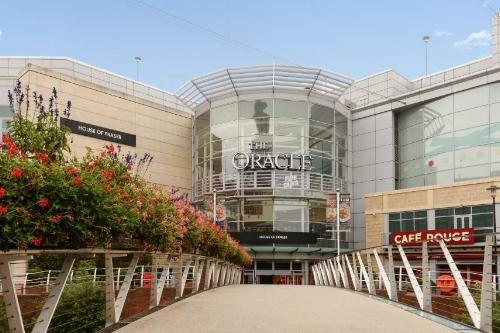 Shopping at The Oracle
