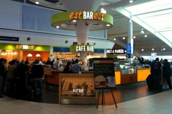 Eating at Luton Airport