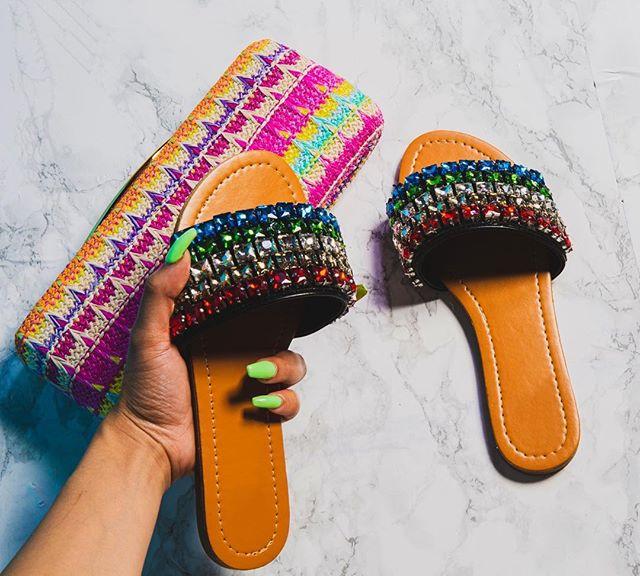 "New Arrivals ""Royal"" $30.00 Sizes 6 through 11 Available • • •  #shoestore #shoetastik #flats #sandals #shoetastikbabe #colors #fashion #cuteshoes #pinellascounty"