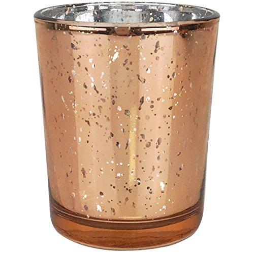 Copper/Rose Gold Mercury Glass Votive $0.70 each