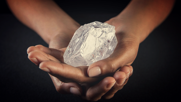 The Lesedi La Rona Diamond (Photograph by Donald Bowers/Getty Images)
