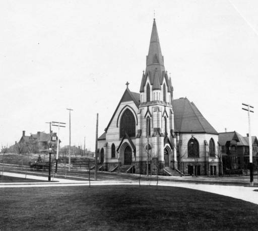 Church at 14th and Lincoln *Courtesy of Denver Public Library