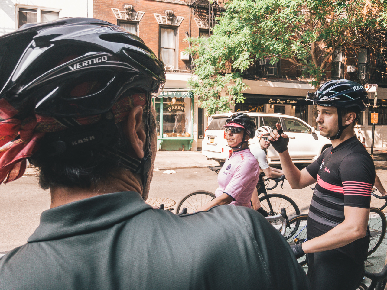 Safety first - Because it's an open ride, there are bound to be differences in each person's familiarity with group riding. The safety brief helps get everyone on the same page and sets expectations for the ride.
