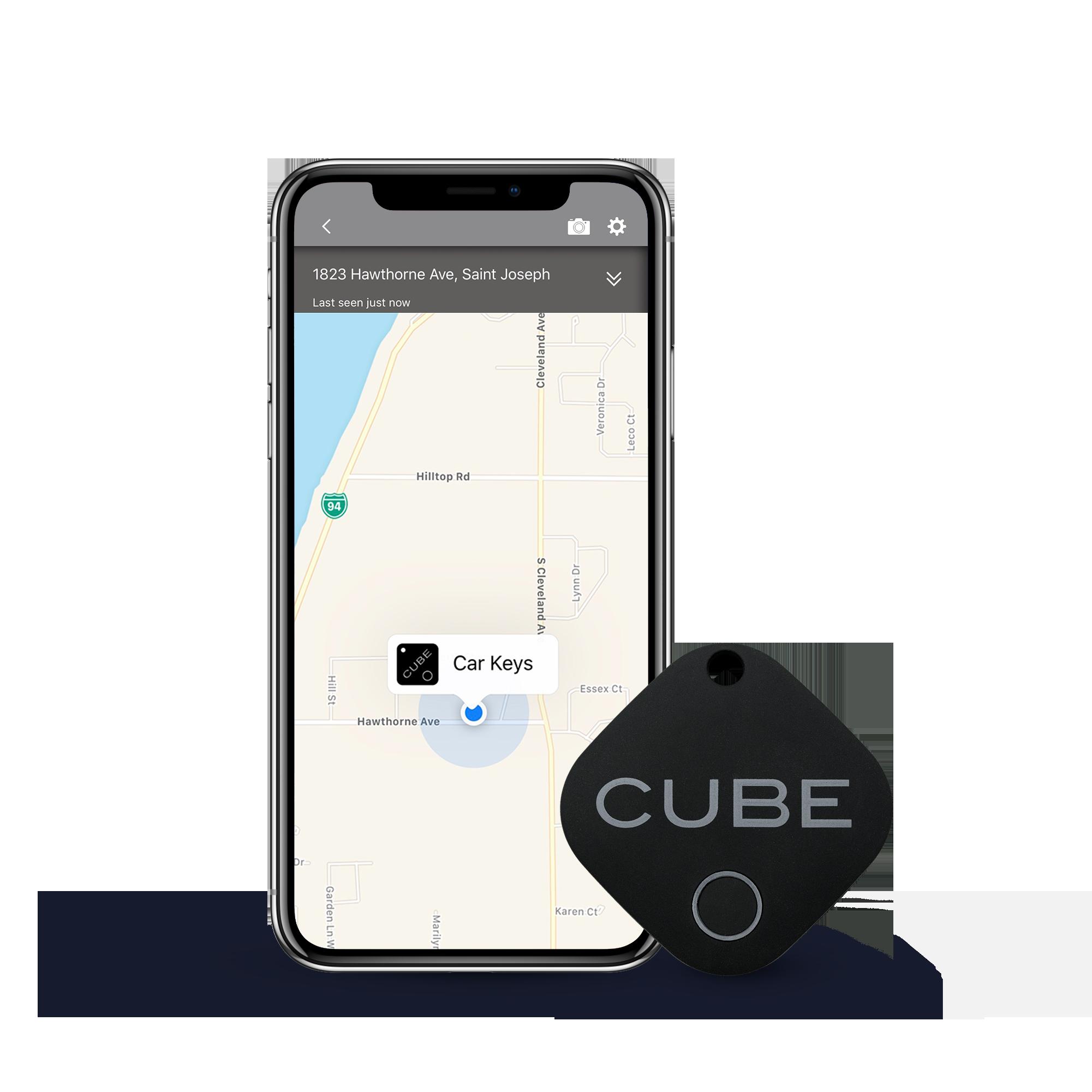 Cube - Unsere erste Generation Cube mit einer dauerhaften Gummierung.