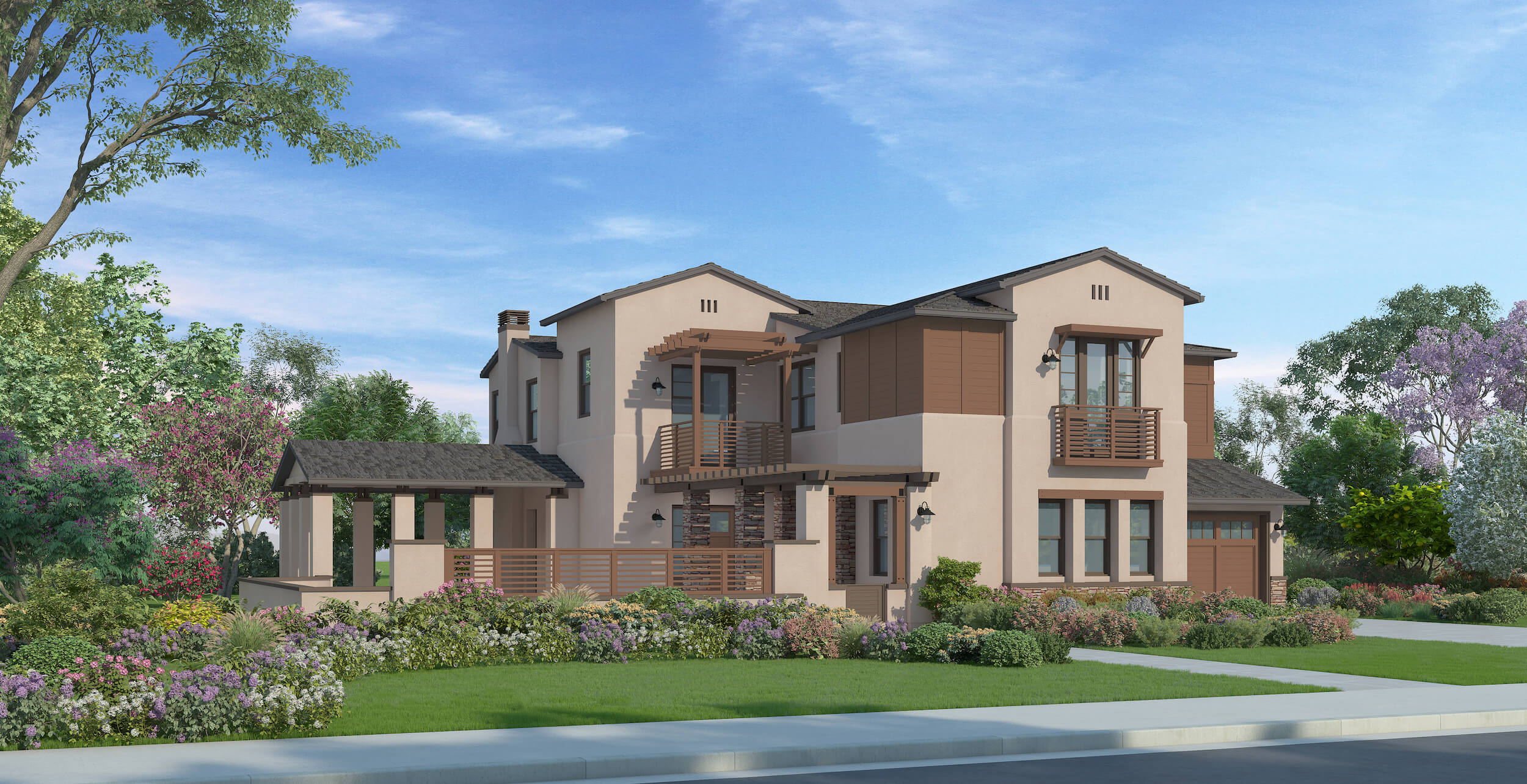 Plan 4A - California Ranch - 4,487 sf