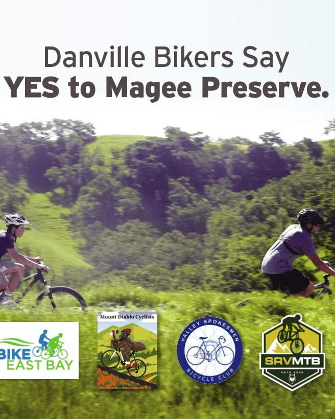 The widely respected environmental protection advocacy group, Save Mount Diablo, and the leaders of every major bicyclist group support the conservation values of Magee Preserve and the new, safer alternatives to Diablo Road that the project provides. Learn more what they're saying about Magee Preserve. -