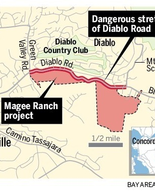 Bike safety on road to Mount Diablo: Will Magee Ranch project cause big impacts? - East Bay Times, 6/3/19Planning Commission recommends approval of report.