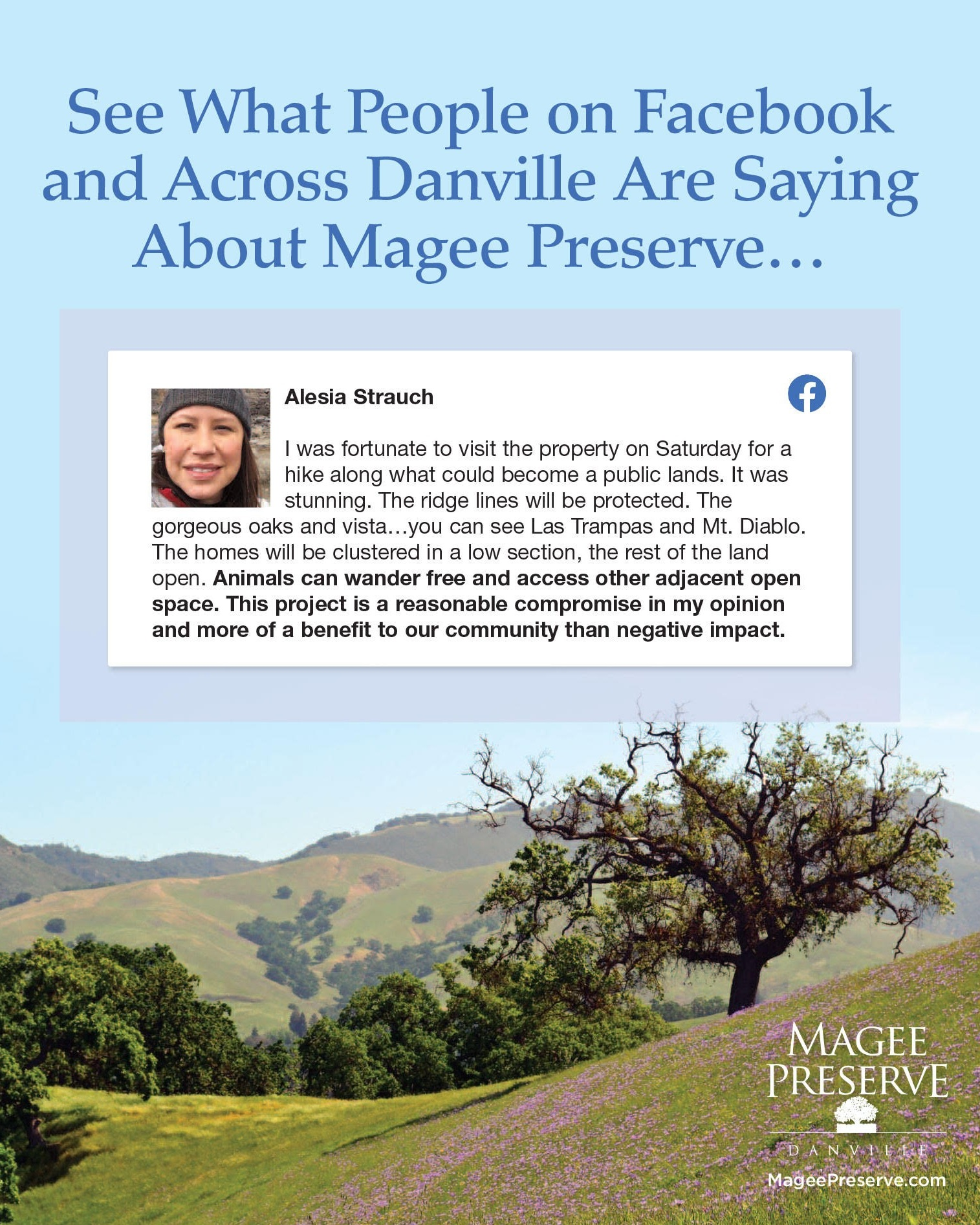 See what people on Facebook and Across Danville are saying about Magee Preserve's open space and miles of new public trails. -