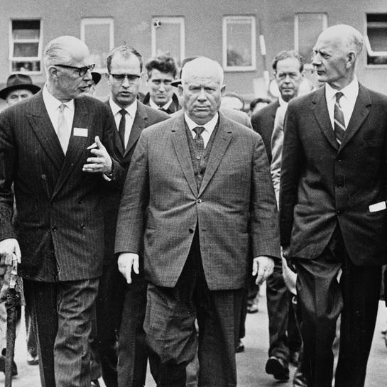 nikita khrushchev's PRESIDIUM -