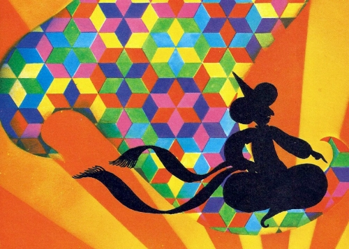 The Patchwork Quilt, a fantastic tale of wonder and magic, featuring enchanting shadow puppetry, storytelling, songs and sparkling live accordion music by One Moment in Time.