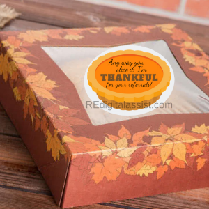 Thanksgiving Pie Pop By