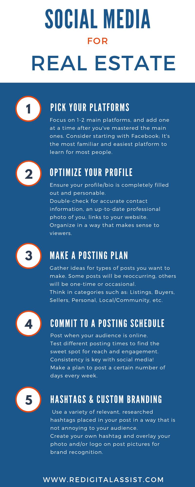 5 Quick Tips for Real Estate Social Media
